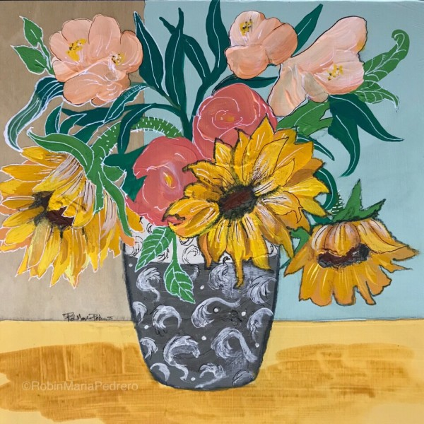 Sunflowers Three