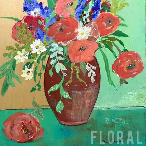 Rejoice, Vase of Flowers