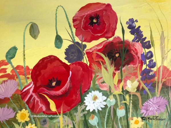 Courage (Red Poppies)