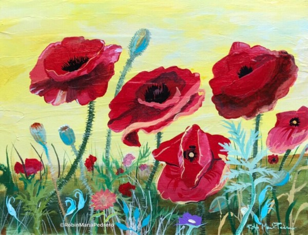 Victory Red Poppies