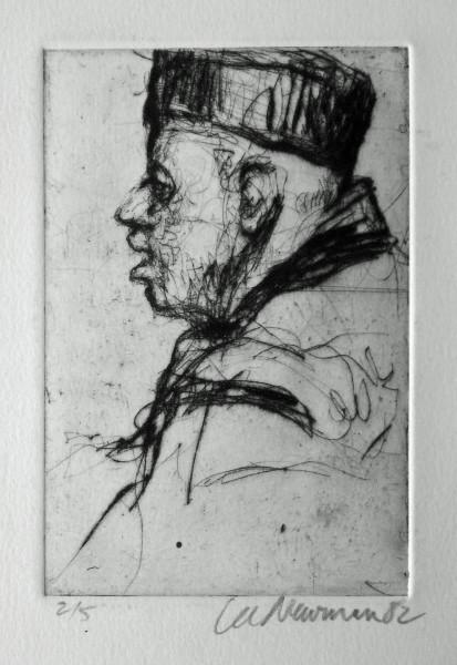 Man With Winter Cap