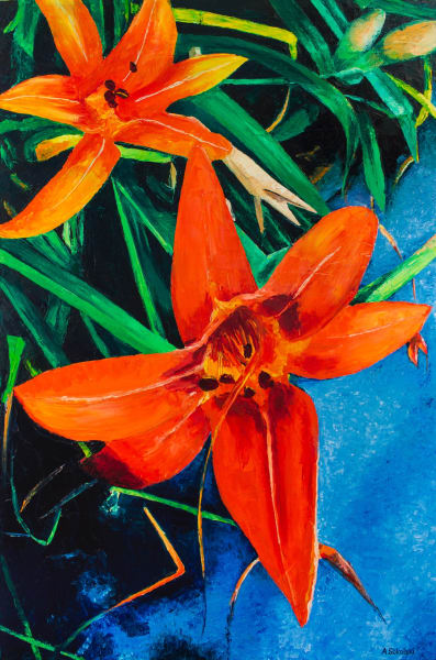 Summer Day Lilies