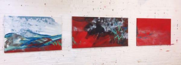 Atmospheric Haze (Triptych)