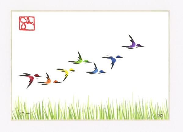 Bird Series - Prairie