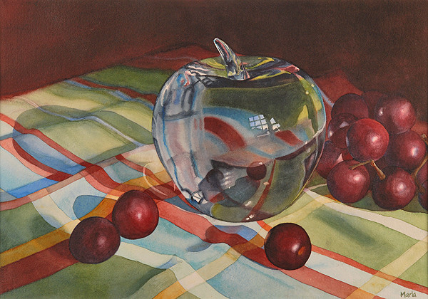 Glass Apple