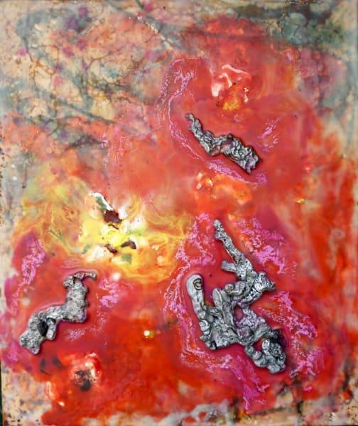 Within a supernova eruption.