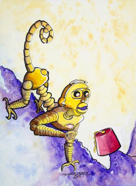 Fez Monkey Robot