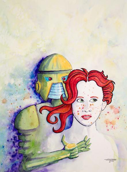 Red Menace Robot