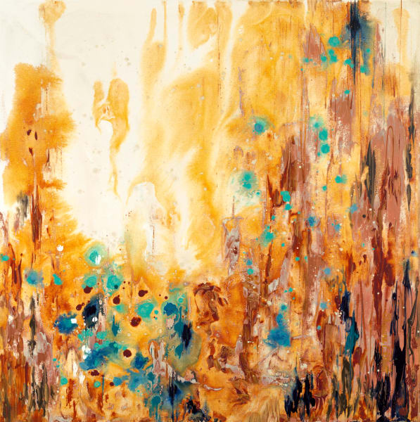 Rusted Rain Canvas Giclee Reproduction
