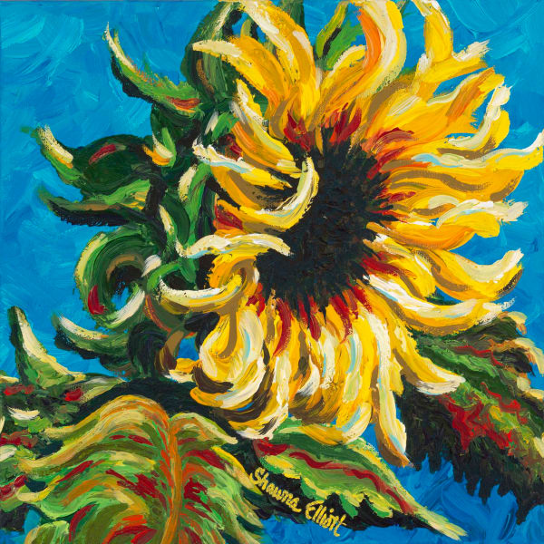 Summer's Sunflower Reproduction