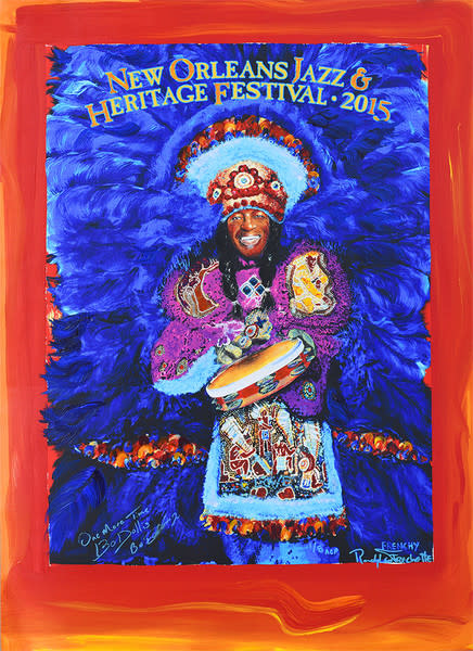 2015 New Orleans Jazz Fest Artist Proof C-Marques