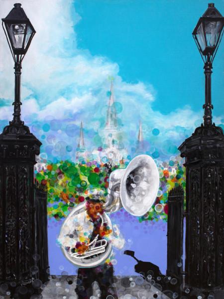 Jackson Square Tuba