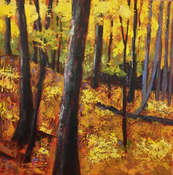 Warm Yellow Forest