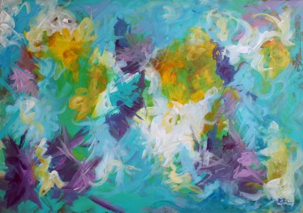 Abstract Irises