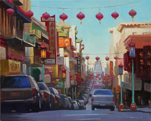 Grant Street Lanterns - Chinatown