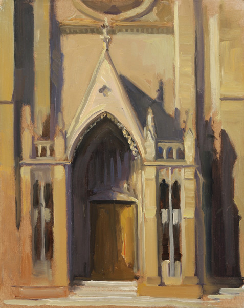 Grace Cathedral, Plein Air