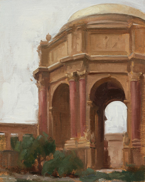 Palace of Fine Arts, Plein Air