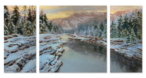 Flathead River Winter