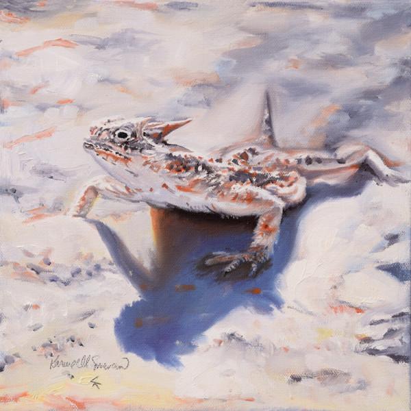 Horned Wonder (Horned Lizard)