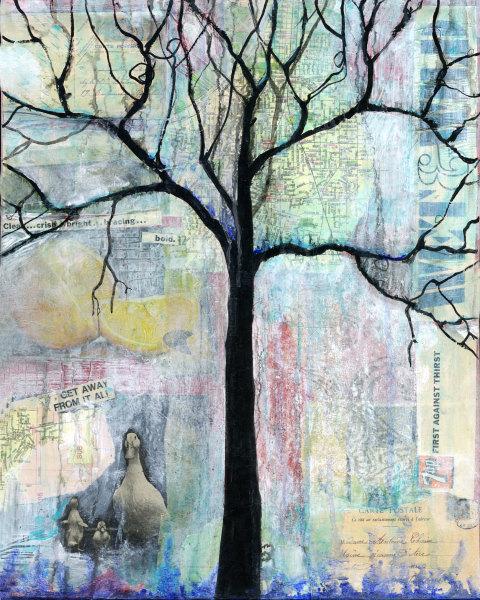 Wet And Wild Tree