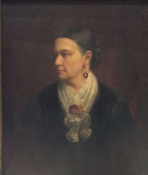Portrait of Mrs. E.D.E.N Southworth