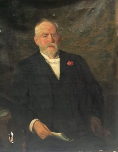 Portrait of James Colgate