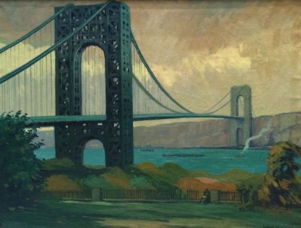 George Washington Bridge - Sidney Wiggins
