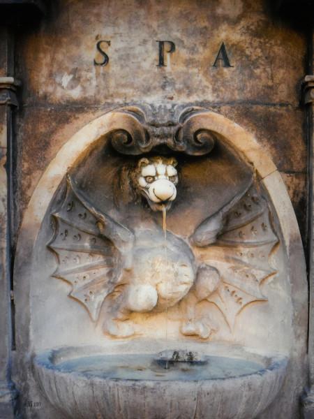 Roman Fountain Monster