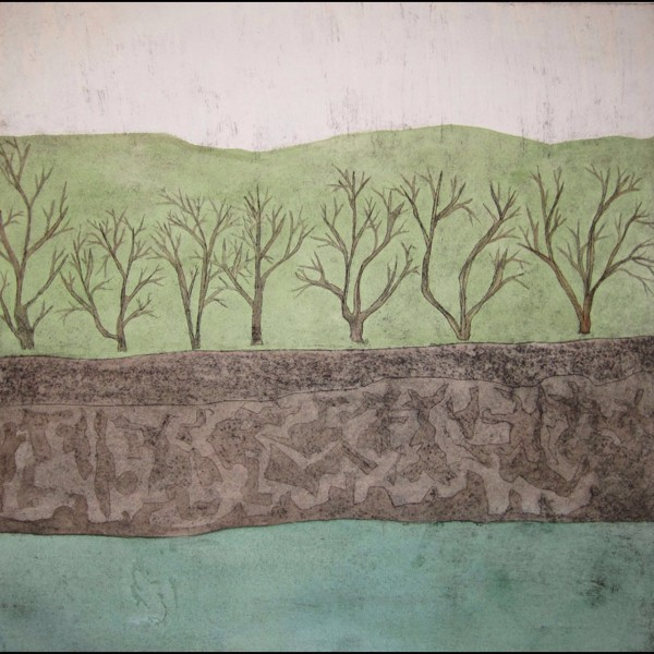 Seven Trees by the River