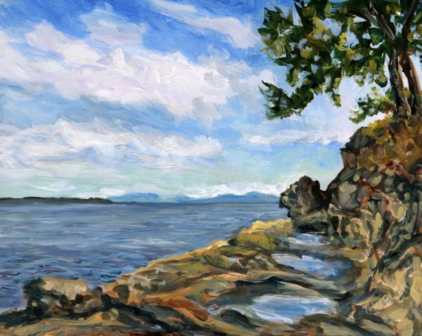 June morning Coon Bay Study