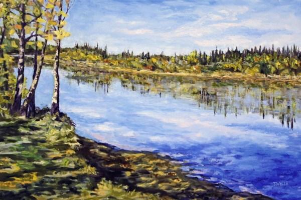 Stuart River Kicking Leaves
