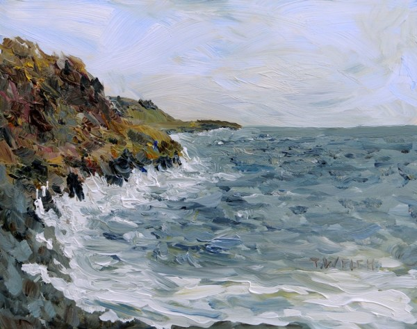 Westerly Winds Coming Ashore