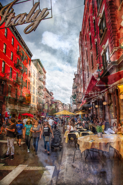 LITTLE ITALY IN RED