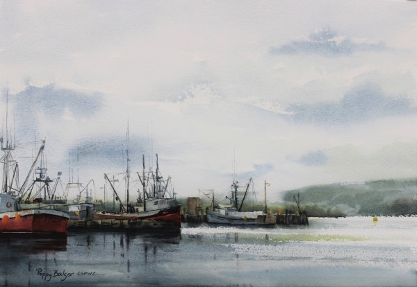 Scallop Boats in May