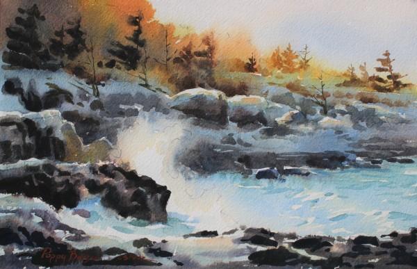 Snowy coast study II