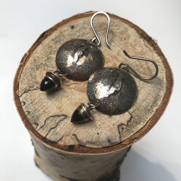 Black Spinel Bullet Cabochons