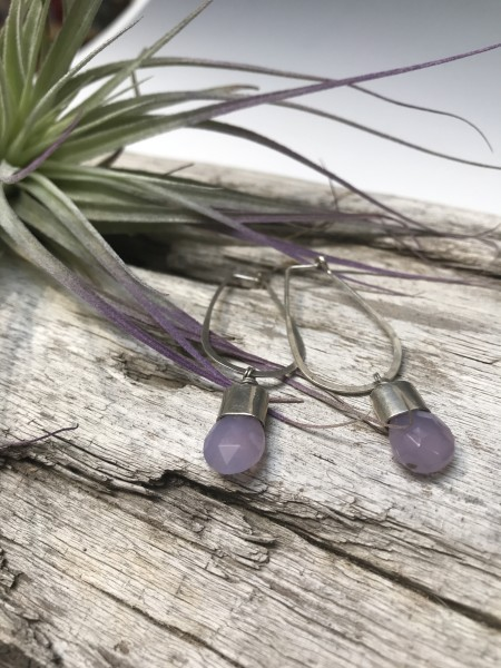 Holley Mountain Agate Earrings