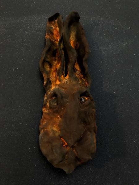 Rusted Rabbit Head 1