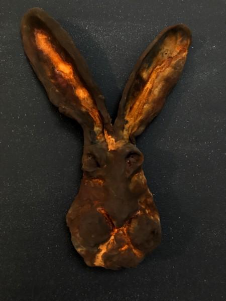 Rusted Rabbit Head 2