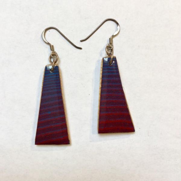 Purple Earrings I