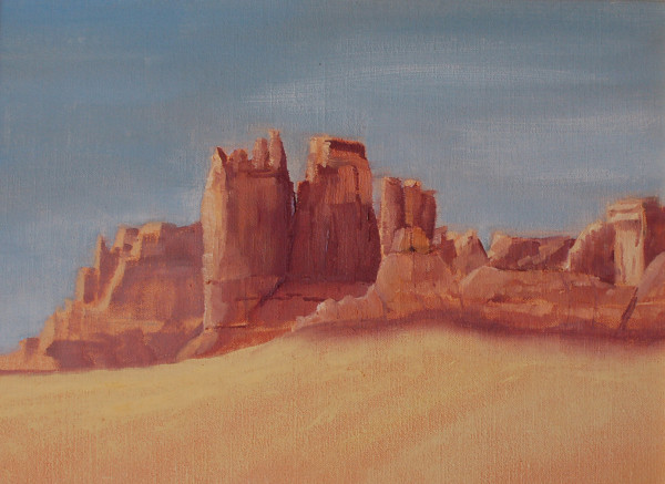 Daybreak at Arches N.P.