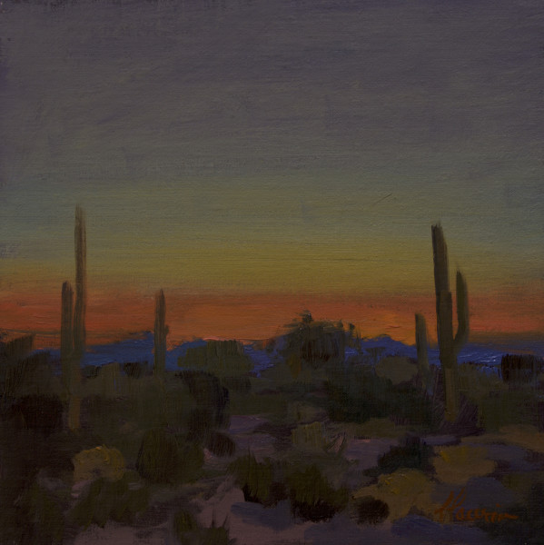 """Dusk View of Scottsdale"""