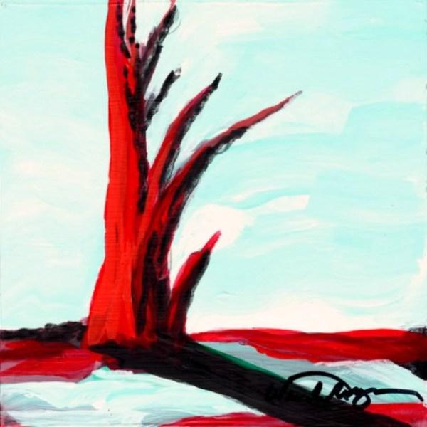 Red Tree Mini #5