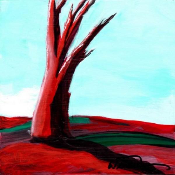 Red Tree Mini #7