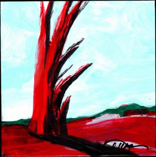 Red Tree Mini #8