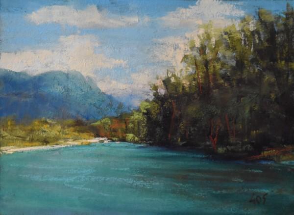 Skagit river beach