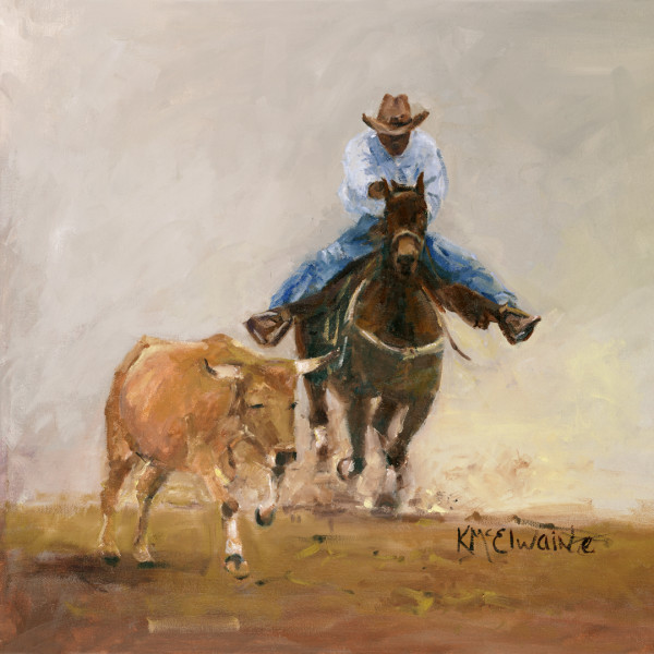 SOLD The Original Bull Dogger Bill Pickett Available as a Print