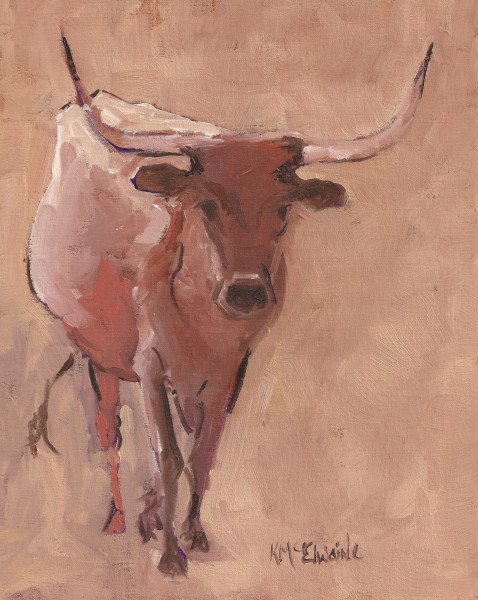 (Sold) A Jersey but a Longhorn, none the less.