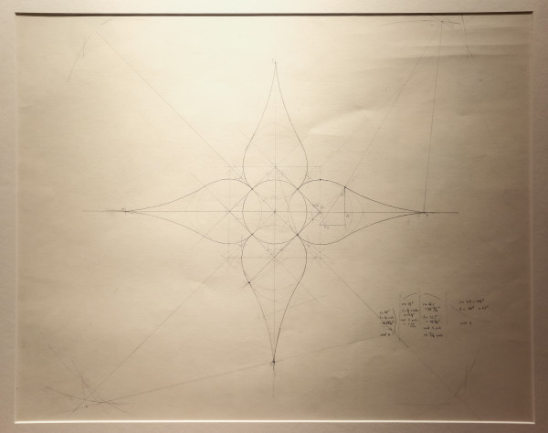 RoseWater Chandelier (Preliminary Drawing)