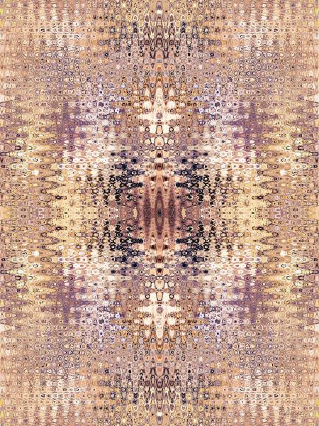 Klimt Wave Tapestry 2A